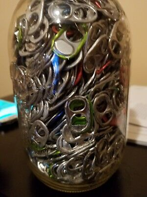 30 Oz.aluminum Pull Tabs Soda Beer Can Pop Tops Arts Crafts Charity Fund Raiser