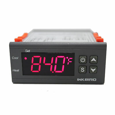Digital Temperature Controller ITC-1000 110V Thermostat Brewing Heating Cooling