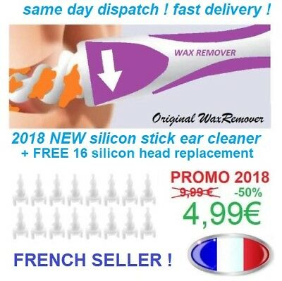 NEW set Cleaner kit Multifunctional remover Earwax Removal Soft Spiral Ear