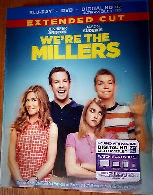 We're the Millers (Blu-ray/DVD/Digital HD, 2013, Extended Cut) - Top Comedy NEW