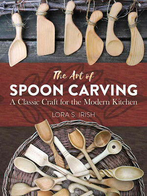 Dover Publications-The Art Of Spoon Carving