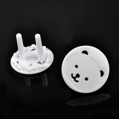10x Plug Socket Cover Kids Baby Proof Child Safety Protector Guard Mains Bear EU