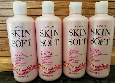 LOT OF 8 AVON SKIN SO SOFT AND SENSUAL BODY LOTION 11.8 oz **8 BOTTLES **