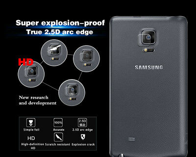 Tempered Glass Film For Samsung Galaxy Note Edge/ 2 / 3/ 4 Back Camera Lens Film