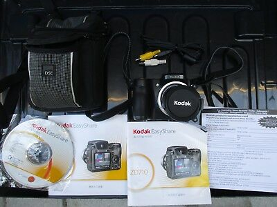 Kodak Digital ZD710with CDS booklets (As Parts) cost $400 ! Ref: O26