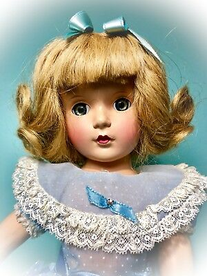 "Sweetest Vintage Madame Alexander 15"" Composition Margaret Face Wendy Ann Doll"