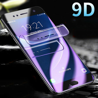 Full Cover Screen Protector Hydrogel Film For Samsung Galaxy S8 S9 Plus Note 9 8