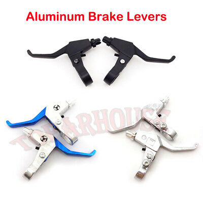 Right Left Brake Levers For 43cc 47cc 49cc Gas Scooter Mini Chopper Pocket Dirt