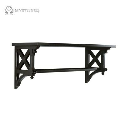 14.25 in W Large Silhouette Country Double Shelf Decor By Martha Stewart Living