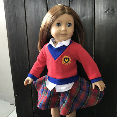 American Girl Our Generation Journey Girl 18 inch Doll Outfit School Uniform 2pc