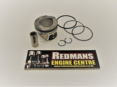 Ford 1.0 Eco boost Piston with rings 3 cylinder turbo Fiesta Focus
