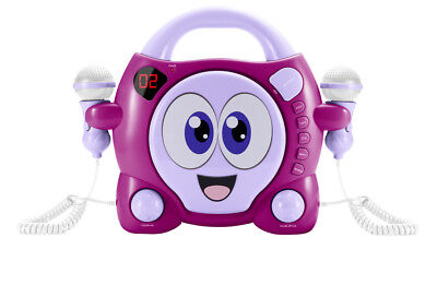"BIGBEN - CD Player CD59 ""My Bubble"" pink mit 2 Mikrofonen"