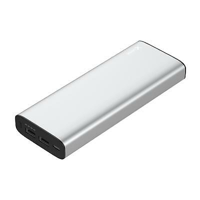 XLayer - Powerbank PLUS MacBook (20100mAh), silber