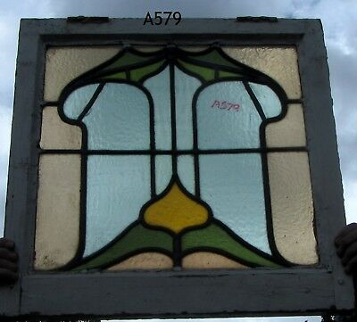 A579 Stained glass    Ca 1890s