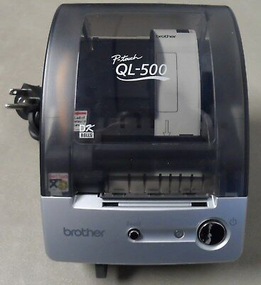 Brother P-Touch QL-500 USB Label Printer & Address Labels (Used)