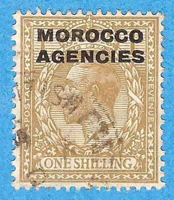 Morocco Agencies  216  Used  British Currency George V