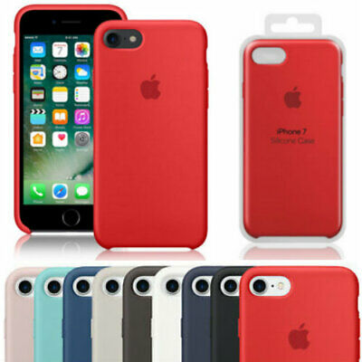 CUSTODIA COVER ORIGINALE Per Apple IPHONE 8/7 SILICONE CASE Protezione