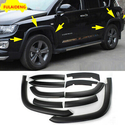 10x For Jeep Compass 2011 2015 Front Rear Fender Flares Cover Protector Molding 188 99 Picclick