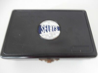Set of Weights in Box - Imperial (50g) - Made by Analite - Supplied by Selbys