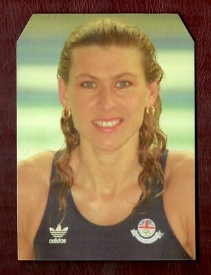Swimming - Sharron Davies - 1997 Original Game Card