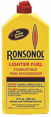 Ronson 12 ounce Ronsonol Lighter Fuel