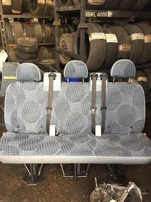 FORD TRANSIT 2nd Row Seat (Rear Seat) Bench AND Rear Bulkhead 06-14