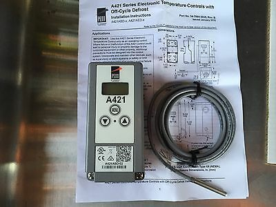 JOHNSON CONTROL ELECTRONIC THERMOSTAT with/ off cycle-defrost A421ABD-02