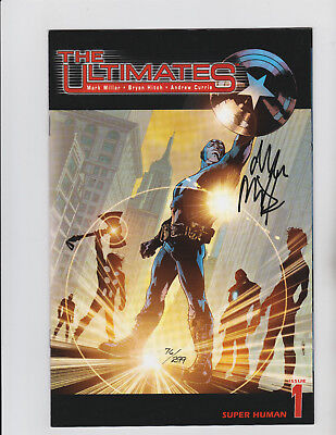 The Ultimates #1-6 Dynamic Forces Signed Set by Mark Millar