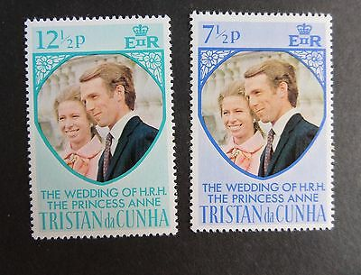 Tristan Da Cunha 1973 Royal Wedding princess Anne MNH UM unmounted mint