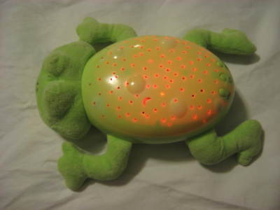 Summer Infant Light and Sounds Plush Frog Slumber Buddies Frankie The Frog