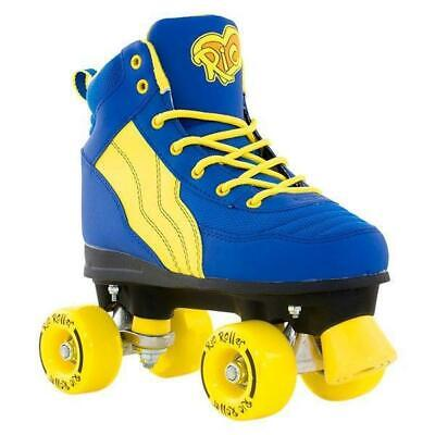 Rio Roller Pure Blue/Yellow Kids Quad Roller Skates