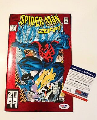 Stan Lee Signed Spider-Man 2099 # 1