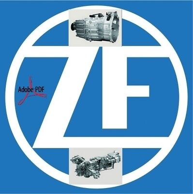 ZF Transmissions-All Models-Full Set Manuals-2017-2018-Fast downloads