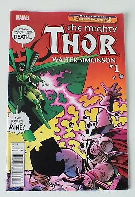 The Mighty Thor - Halloween Comicfest - Issue # 1 - Marvel - 2017 - NM/VF - (807