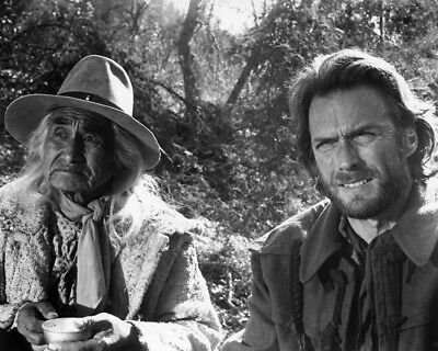 The Outlaw Josey Wales Clint Eastwood Chief Dan George 8X10 Photo