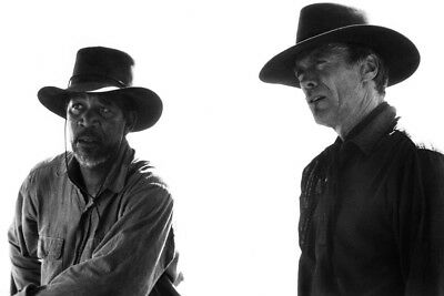 Clint Eastwood Morgan Freeman 24X36 Poster Unforgiven