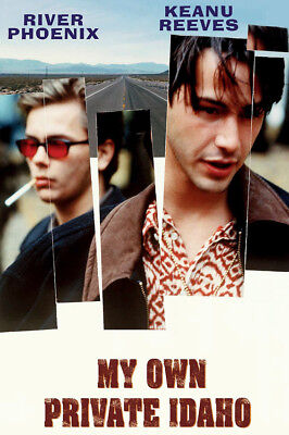 My Own Private Idaho Keanu Reeves River Phoenix 1991 Classic 24X36 Poster