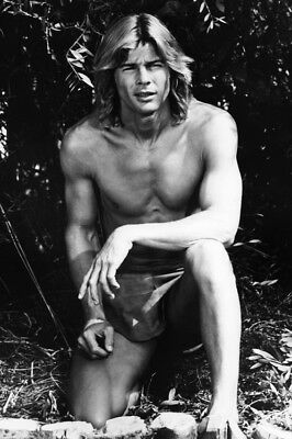 The World's Greatest Athlete Jan-Michael Vincent Bare Chested Hunky Pin Up Poste