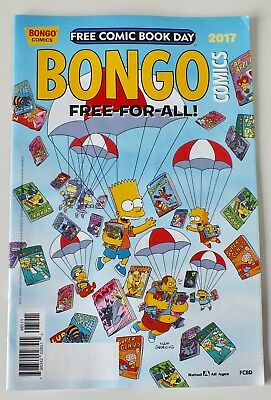 The Simpsons - Bongo Comics - Free Comic Book Day - 2017 - NM/VF - (809)