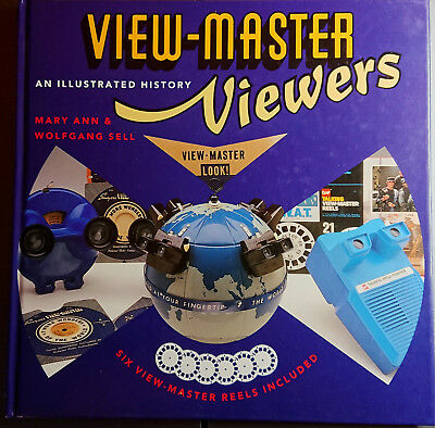 VIEW-MASTER VIEWERS An illustrated history hardcover-book