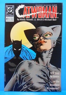 CATWOMAN #4 of 4 1989 DC Comics Uncertified Limited Series MATURE READERS ONLY
