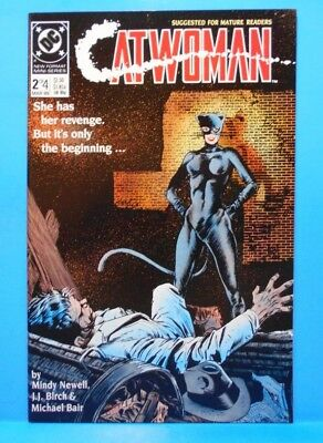 CATWOMAN #2 of 4 1989 DC Comics Uncertified Limited Series MATURE READERS ONLY