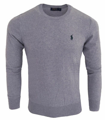 PULL RALPH LAUREN homme Pull col rond RF71 gris - EUR 79,00 ... 75069bc0ed4