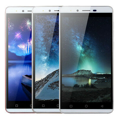 5.0'' Ultrathin Android Quad-Core 4G Dual SIM&Camera WiFi Unlocked Smartphone US