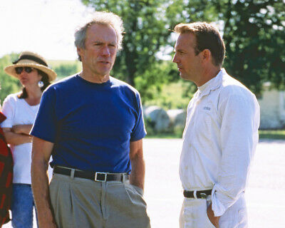 A Perfect World Clint Eastwood Kevin Costner On Set 16X20 Photo
