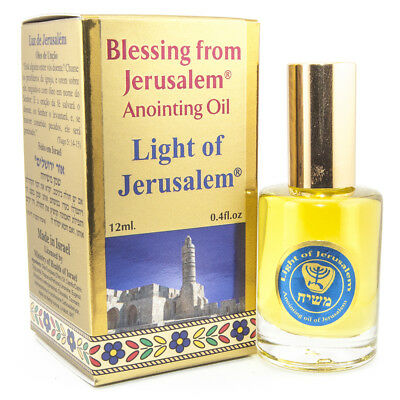 Aromatic Anointing Oil Light of Jerusalem Biblical Spices EinGedi 0.4fl.oz/12ml