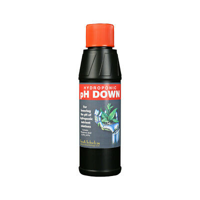 Growth Technology pH Down 250ml Hydroponic Adjustment Solution