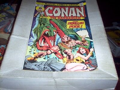 Conan The Barbarian # 50 J. Buscema Art Dweller In The Pool Issue Look Vf-