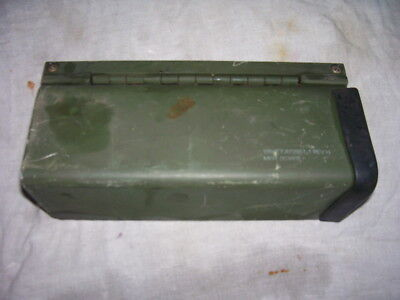 HMMWV Blue Force Tracker RADIO TRAY Protective COVER FOR PLUGS