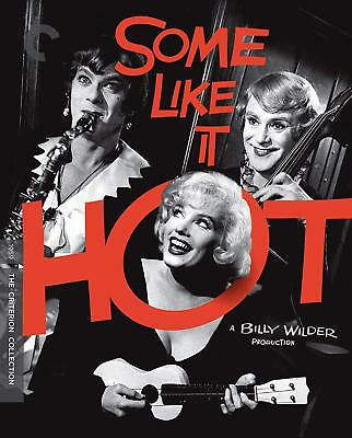 CRITERION COLLECTION - SOME LIKE IT HOT   - Region A - BLU RAY - Sealed